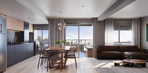 Living - Apartamento à venda Rua França Pinto,Vila Mariana, São Paulo - R$ 1.921.903 - II-12233-21880 - 6