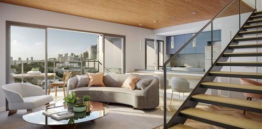 Living - Apartamento à venda Rua França Pinto,Vila Mariana, São Paulo - R$ 1.921.903 - II-12233-21880 - 7