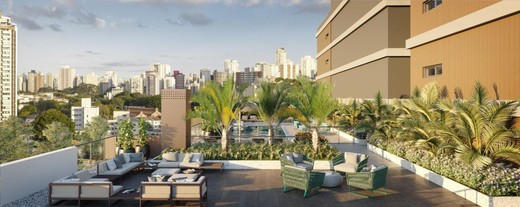Deck lounge - Apartamento à venda Rua França Pinto,Vila Mariana, São Paulo - R$ 1.921.903 - II-12233-21880 - 14