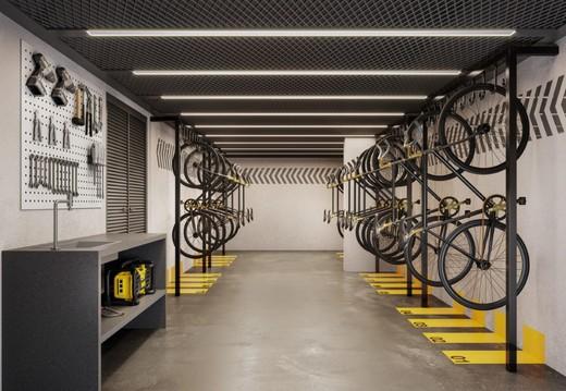 Bicicletario - Apartamento à venda Rua França Pinto,Vila Mariana, São Paulo - R$ 1.921.903 - II-12233-21880 - 17