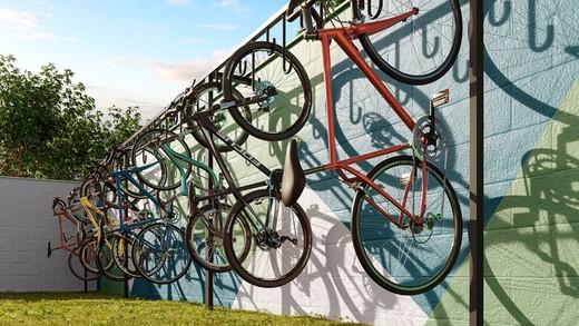 Bicicletario - Fachada - Viva Vida Moinho - 264 - 10