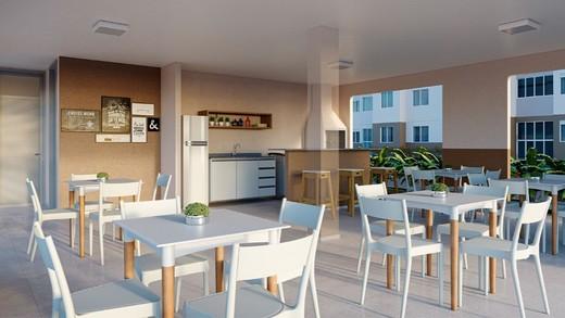 Salao de festas - Apartamento 1 quarto à venda Campo Grande, Rio de Janeiro - R$ 139.000 - II-12597-22300 - 4