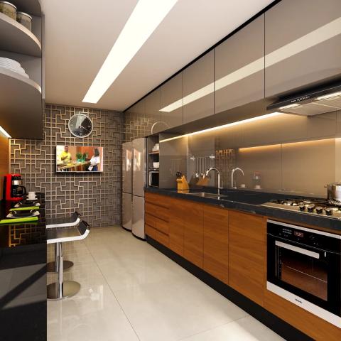 Cozinha - Cobertura 2 quartos à venda Vila Isabel, Rio de Janeiro - R$ 673.500 - II-13004-22776 - 8