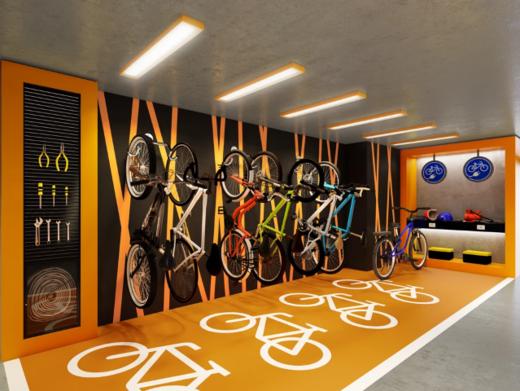 Bicicletario - Cobertura 2 quartos à venda Vila Isabel, Rio de Janeiro - R$ 673.500 - II-13004-22776 - 12