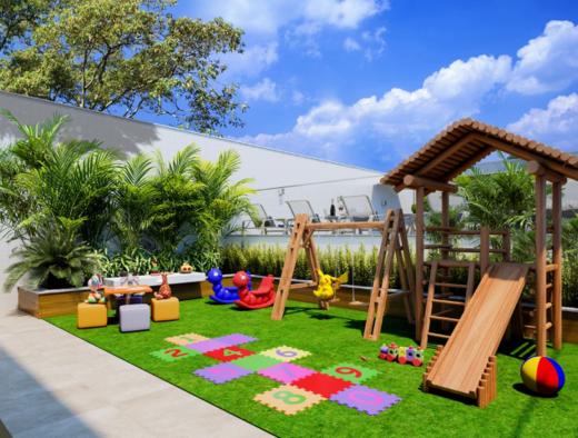 Playground - Cobertura 2 quartos à venda Vila Isabel, Rio de Janeiro - R$ 673.500 - II-13004-22776 - 13