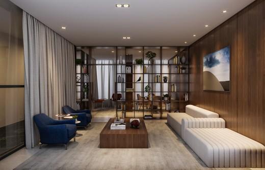 Biblioteca - Apartamento 4 quartos à venda Pinheiros, São Paulo - R$ 2.329.050 - II-13139-22937 - 11