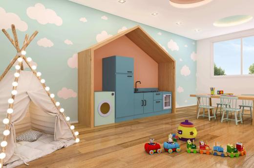Brinquedoteca - Apartamento 2 quartos à venda Lapa, São Paulo - R$ 256.084 - II-13145-22933 - 5