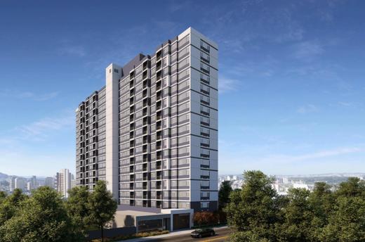 Fachada - Apartamento 2 quartos à venda Lapa, São Paulo - R$ 256.084 - II-13145-22933 - 1