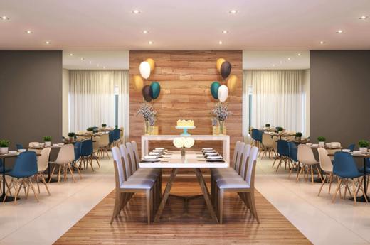 Salao de festas - Apartamento 2 quartos à venda Lapa, São Paulo - R$ 256.084 - II-13145-22933 - 4