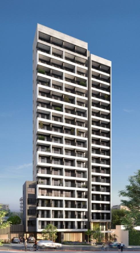 Fachada - Apartamento à venda Rua Madre Cabrini,Vila Mariana, São Paulo - R$ 406.432 - II-13596-26643 - 1