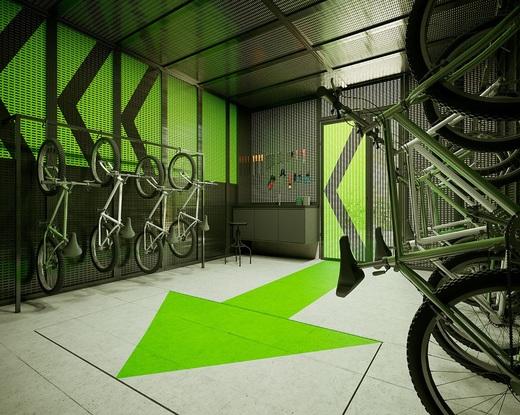 Bicicletario - Apartamento à venda Rua Madre Cabrini,Vila Mariana, São Paulo - R$ 406.432 - II-13596-26643 - 6