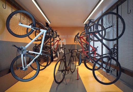 Bicicletario - Fachada - Raízes Tucuruvi Jacarandá - 776 - 13