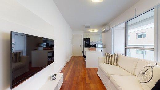 Living - Apartamento à venda Alameda Fernão Cardim,Jardim Paulista, São Paulo - R$ 922.000 - II-13851-23705 - 11