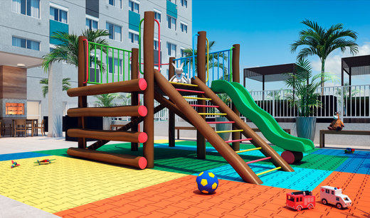 Playground - Fachada - Viva Benx Chácara Santo Antônio - Breve Lançamento - 782 - 27