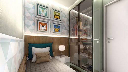 Dormitorio - Apartamento à venda Rua Dias Vieira,Morumbi, São Paulo - R$ 1.488.500 - II-14015-23900 - 9