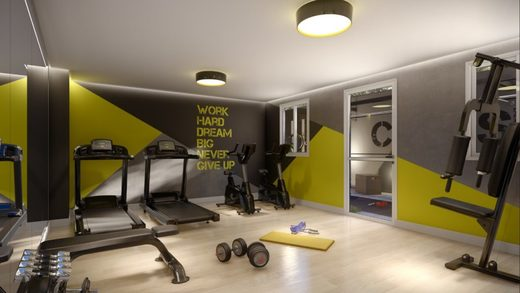 Fitness - Apartamento à venda Rua Dias Vieira,Morumbi, São Paulo - R$ 1.488.500 - II-14015-23900 - 11