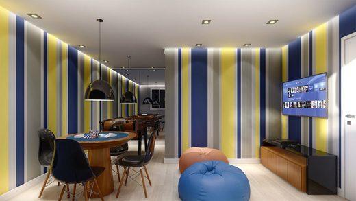 Sala de jogos - Apartamento à venda Rua Dias Vieira,Morumbi, São Paulo - R$ 1.488.500 - II-14015-23900 - 12