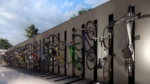 Bicicletario - Apartamento à venda Rua Dias Vieira,Morumbi, São Paulo - R$ 1.488.500 - II-14015-23900 - 16