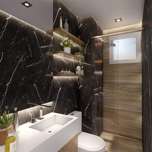 Banheiro - Apartamento à venda Rua Dias Vieira,Morumbi, São Paulo - R$ 1.488.500 - II-14015-23900 - 10
