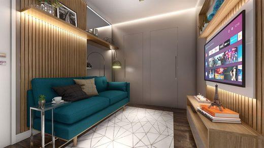 Living - Apartamento à venda Rua Dias Vieira,Morumbi, São Paulo - R$ 1.488.500 - II-14015-23900 - 6