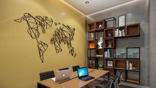 Coworking - Cobertura 1 quarto à venda Lapa, São Paulo - R$ 2.504.500 - II-14087-23988 - 11