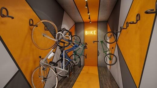 Bicicletario - Cobertura 1 quarto à venda Lapa, São Paulo - R$ 2.504.500 - II-14087-23988 - 18