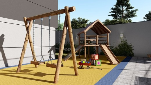 Playground - Cobertura 1 quarto à venda Lapa, São Paulo - R$ 2.504.500 - II-14087-23988 - 21