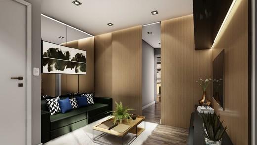 Living - Cobertura 1 quarto à venda Lapa, São Paulo - R$ 2.504.500 - II-14087-23988 - 3