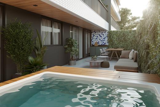 Piscina - Apartamento 3 quartos à venda Tijuca, Rio de Janeiro - R$ 1.286.381 - II-14324-24243 - 16