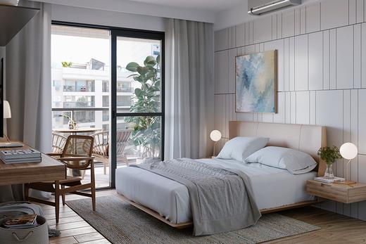 Dormitorio - Fachada - One Tijuca - 280 - 7