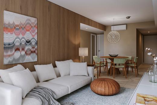 Living - Apartamento 3 quartos à venda Tijuca, Rio de Janeiro - R$ 1.286.381 - II-14324-24243 - 4