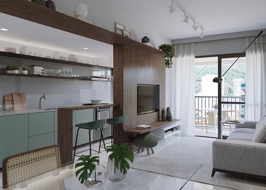 Living - Apartamento 3 quartos à venda Tijuca, Rio de Janeiro - R$ 1.286.381 - II-14324-24243 - 3