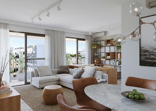 Living - Apartamento 3 quartos à venda Tijuca, Rio de Janeiro - R$ 1.286.381 - II-14324-24243 - 5