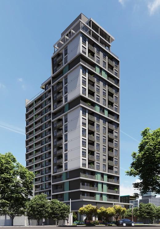 Fachada - Apartamento à venda Avenida Adolfo Pinheiro,Alto da Boa Vista, São Paulo - R$ 410.377 - II-14540-24501 - 1