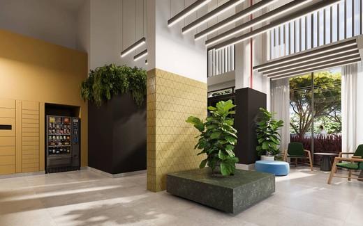 Hall - Apartamento à venda Avenida Adolfo Pinheiro,Alto da Boa Vista, São Paulo - R$ 410.377 - II-14540-24501 - 4