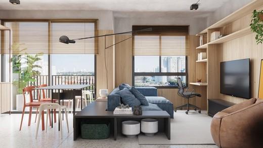 Living - Apartamento à venda Avenida Adolfo Pinheiro,Alto da Boa Vista, São Paulo - R$ 410.377 - II-14540-24501 - 6