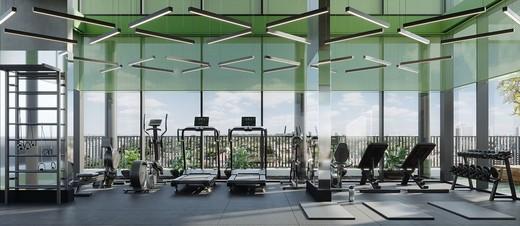 Fitness - Apartamento à venda Avenida Adolfo Pinheiro,Alto da Boa Vista, São Paulo - R$ 410.377 - II-14540-24501 - 8