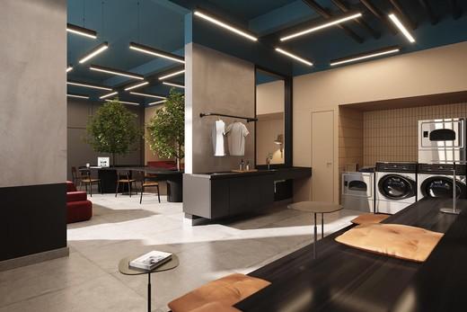 Coworking - Apartamento à venda Avenida Adolfo Pinheiro,Alto da Boa Vista, São Paulo - R$ 410.377 - II-14540-24501 - 12