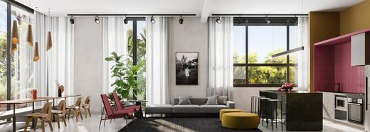 Lounge gourmet - Apartamento à venda Avenida Adolfo Pinheiro,Alto da Boa Vista, São Paulo - R$ 410.377 - II-14540-24501 - 16