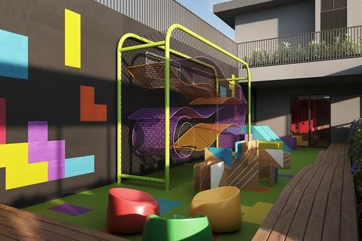 Playground - Apartamento à venda Avenida Adolfo Pinheiro,Alto da Boa Vista, São Paulo - R$ 410.377 - II-14540-24501 - 15