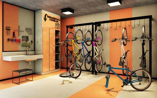 Bicicletario - Fachada - Viva Benx Lapa - 1145 - 19