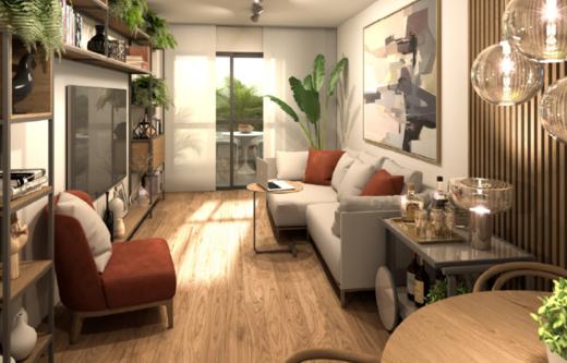 Living - Apartamento 1 quarto à venda Copacabana, Rio de Janeiro - R$ 939.400 - II-14856-25123 - 3