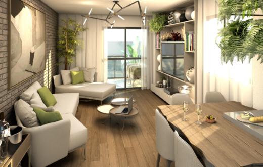 Living - Apartamento 1 quarto à venda Copacabana, Rio de Janeiro - R$ 939.400 - II-14856-25123 - 4