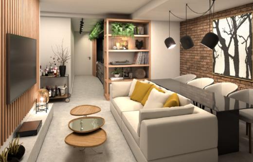 Living - Apartamento 1 quarto à venda Copacabana, Rio de Janeiro - R$ 939.400 - II-14856-25123 - 5