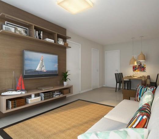 Living - Apartamento 2 quartos à venda Recreio dos Bandeirantes, Rio de Janeiro - R$ 455.000 - II-14895-25184 - 4