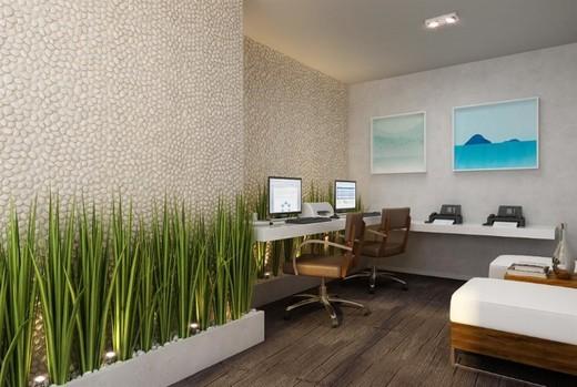 Coworking - Apartamento 2 quartos à venda Recreio dos Bandeirantes, Rio de Janeiro - R$ 455.000 - II-14895-25184 - 9
