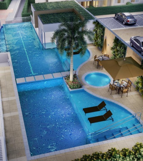 Piscina - Apartamento 2 quartos à venda Recreio dos Bandeirantes, Rio de Janeiro - R$ 455.000 - II-14895-25184 - 10