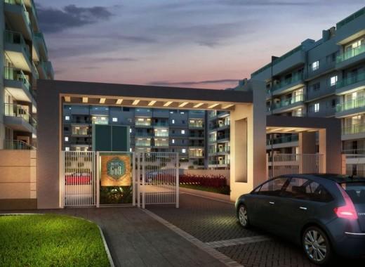 Portaria - Apartamento 2 quartos à venda Recreio dos Bandeirantes, Rio de Janeiro - R$ 455.000 - II-14895-25184 - 3