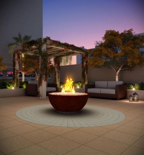 Fireplace - Fachada - Freedom Freguesia Club Residence - 373 - 17