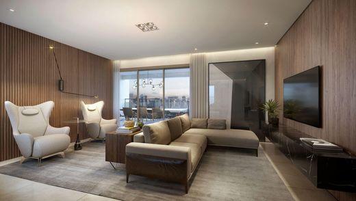 Living - Apartamento à venda Avenida Cotovia,Moema, São Paulo - R$ 3.359.293 - II-14801-25061 - 10